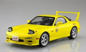 1:24 Scale Aoshima Mazda RX7 FD3S Initial D Takahashi Keisuke Model Kit #425