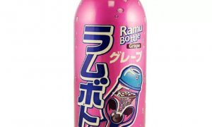JDM Grape Flavour ' Ramu ' Fizzy Drink 500ml #1150