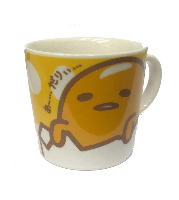 JDM 'Gudetama' Ceramic Mug with Face Pattern #1158