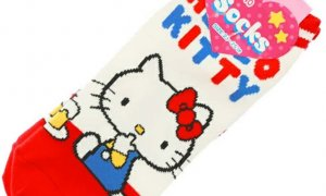 Hello Kitty Unisex Adult Socks [pair] #1124
