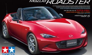 1:24 Scale Mazda MX5 Roadster Model Kit #1104
