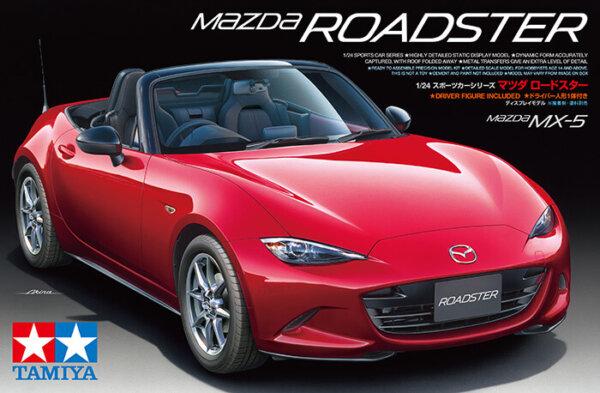1:24 Scale Mazda MX5 Roadster Model Kit #1104