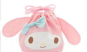 My Melody Drawstring Lunch Bag #1125