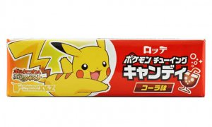 JDM Pokemon Chewing Candy Cola Flavour #1140