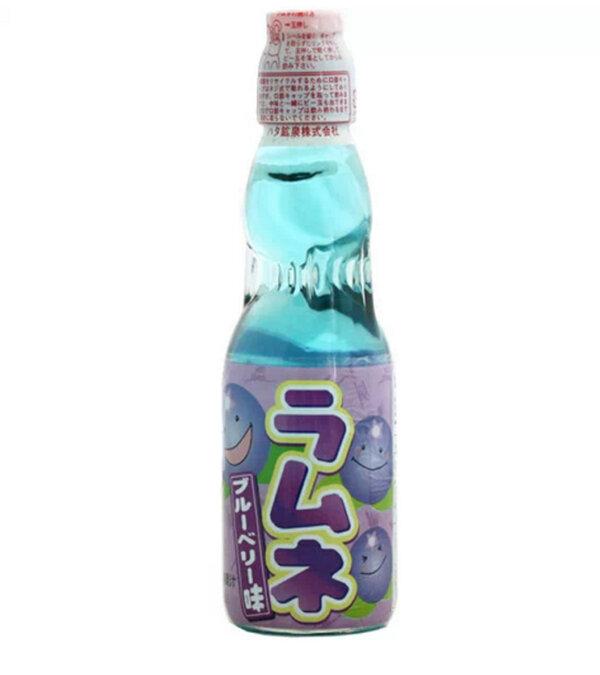 JDM Blueberry Fizzy Drink Ramune Ramu Hatakosen #1151