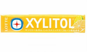 JDM Xylitol Citrus Mix Chewing Gum Lotte Brand #1132