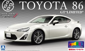 1:24 Scale Toyota GT86 Pre Painted Mode Kit #192