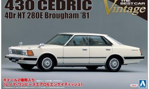 1:24 Scale Aoshima Nissan Cedric 430 Model Kit #1069p