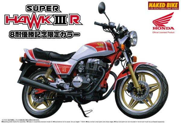 1:12 Scale Honda Super Hawk 3 Model Kit #1059p