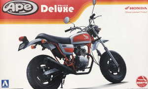 1:24 Scale Honda APE Deluxe Bike Model Kit #1076 Ultra Rare