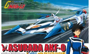 1:32 Scale Nu Asurada AKF-0 Hayato Kazami Model Kit #1184p