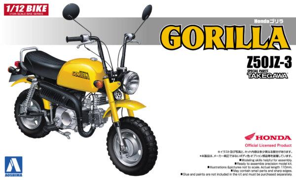 1:12 Scale Honda Gorilla Bike Model Kit #376p