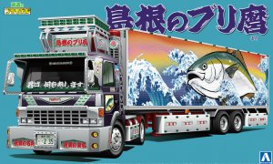 1:32 Scale Dekotora Truck Yellow Tail Special Liner Model Kit #507