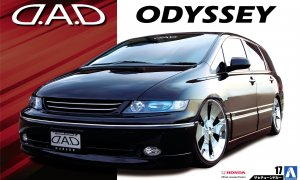 1:24 Scale D.A.D. Honda Oddysey Model Kit #141p