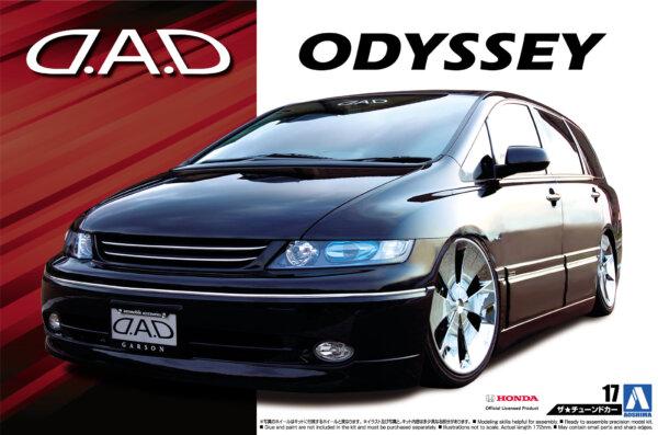 1:24 Scale D.A.D. Honda Oddysey Model Kit #141p