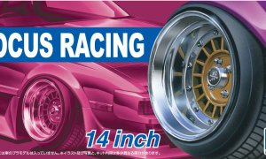 1:24 Scale 14'' Racing Focus Wheel Set #244