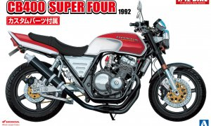 1:12 Scale Honda CB400 Super Four Model Bike Kit #405p