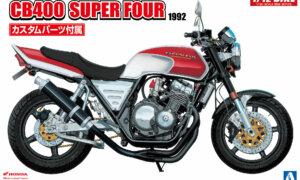 1:12 Scale Honda CB400 Super Four Model Bike Kit #405