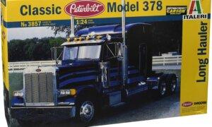 1:24 Scale Italeri Peterbuilt 378 American Classic Truck Tractor Unit #1205P