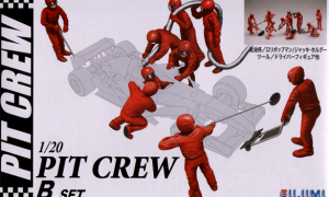 1:20 Scale F1 Style Pit Crew Model Kit #901