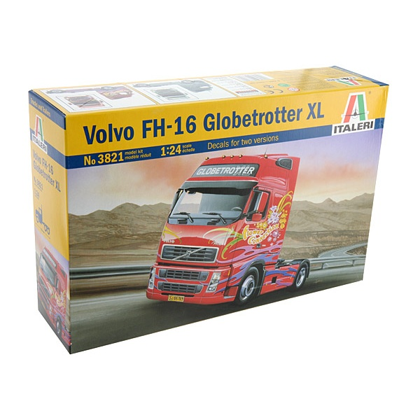 1:24 Scale Italeri Volvo FH16 Globetrotter Truck Tractor Unit #1203
