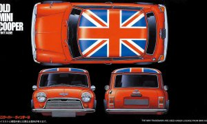 1:24 Scale Mini Cooper Model Kit #798