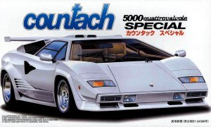 1:24 Scale Lamborghini Countach Model Kit #813