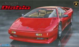 1:24 Scale Lamborghini Diablo Model Kit #828p