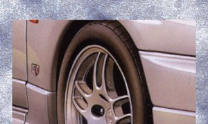 1:24 Scale Nissan R33 GTR Standard Wheel and Tyre Set Model Kit #1164