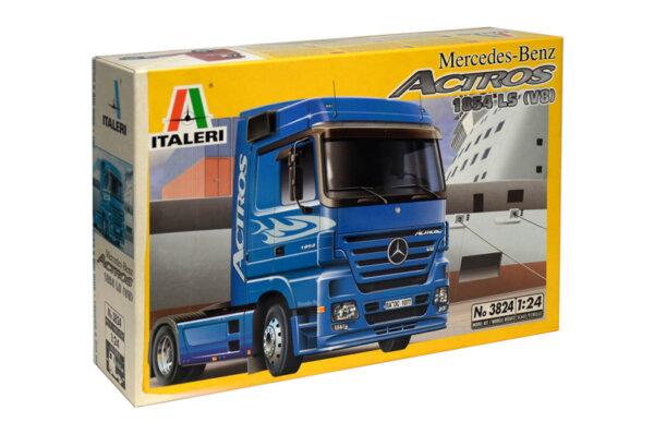 1:24 Scale Italeri Mercedes Actros 1854 Truck Tractor Unit #1204