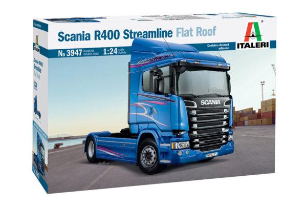 1:24 Scale Italeri Scania R400 Truck Tractor Unit #1208