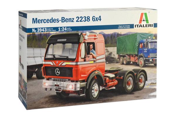 1:24 Scale Italeri Mercedes 2238 Classic Truck Tractor Unit #1207