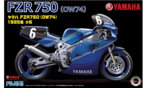 1:12 Scale Fujimi Yamaha FZR750 1985 Bike Model Kit #924p