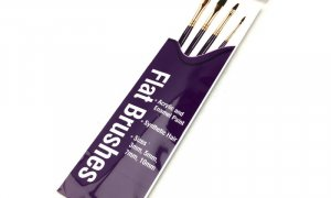 Humbrol Brush Set -Flat Brushes pack PURPLE #1179