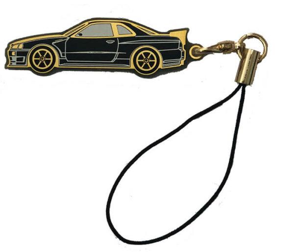 Keyring - Nissan GTR R34 Black or White Version #1185