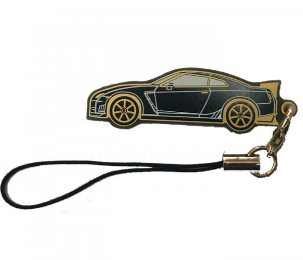 Keyring - Nissan GTR R35 Black or White Version #1186