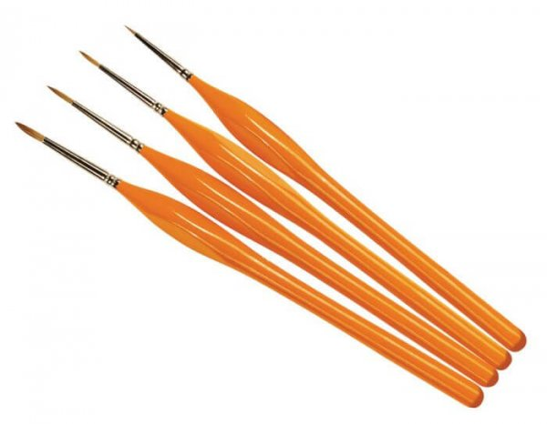Brush Pack Quality Pro Detail Handle Set #1181