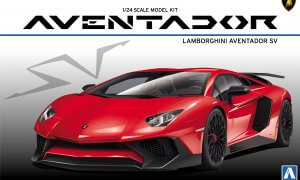 1:24 Scale Lamborghini Aventador LP750-4 SV Model Kit #312