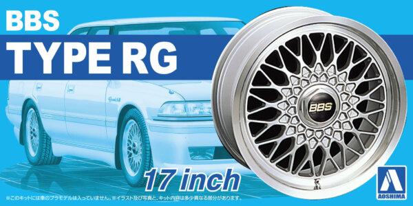 1:24 Scale BBS RG 17'' Wheel And Tyre Set Model Kit #204