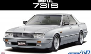 1:24 Scale Aoshima Nissan Impul 731S 1989 Model Kit #31p
