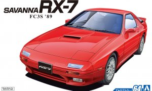 1:24 Scale Aoshima Mazda RX7 FC3S 1989 Savanna Model Kit #63p