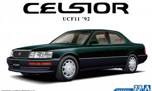 1:24 Scale Aoshima Toyota Celsior / Lexus LS400 4.0 UCF11 1992 Model Kit #1527p