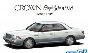1:24 Scale Toyota Crown V8 Royal Saloon G 1989 UZS131 Model Kit #86p
