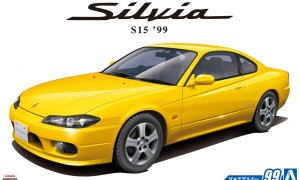 1:24 Scale Nissan Silvia S15 Spec R 1999 Model Kit #98p