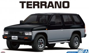 1:24 Scale Nissan Terrano D21 V6 3.0 Model Kit #105p