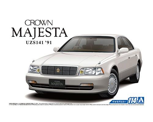 1:24 Scale Aoshima Toyota Crown Majesta C Type UZS141 Model Kit #1217