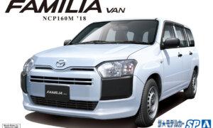 1:24 Scale Mazda Familia Van 2018 NCP160M Model Kit #1212