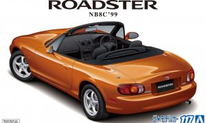 1:24 Scale Mazda MX5 NB8C 1.8 Eunos Roadster 1999 RS Model Kit #1210p