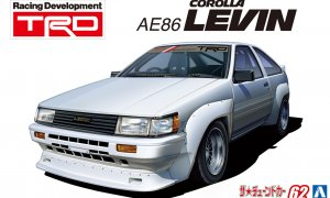 1:24 Scale Toyota AE86 Corolla Levin TRD 1983 Model Kit #1215p