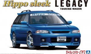 1:24 Scale Aoshima Subaru Legacy Touring By Hippo Sleek BG5 1993 Model Kit #1208p